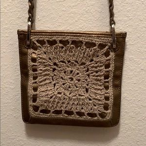 Brighton crochet purse